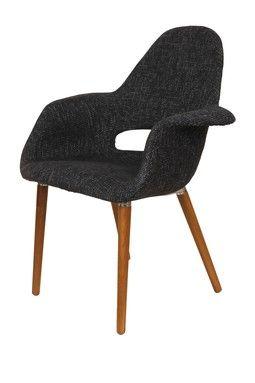 Hautelook Mid Century Classics From Control Brand Organic Chair Black Control Brand Home Furniture Mid Century Furniture