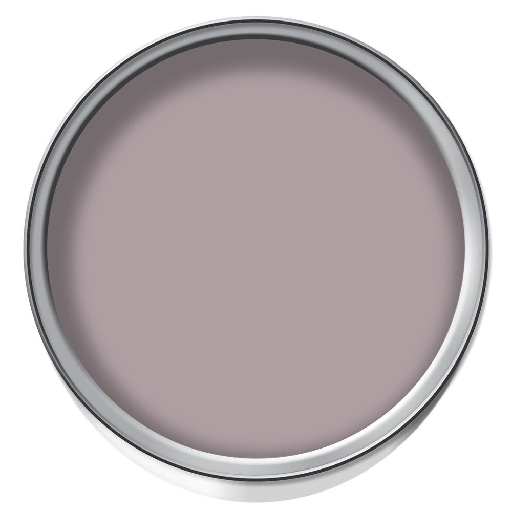 Flat Matt Emulsion Paint Tester Pot Muted Heather 125ml