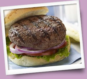 A great grilled burger needs one thing--great meat!