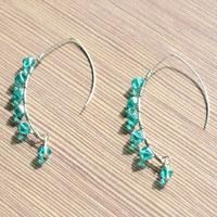 Design Your Own Coil Earrings With Beads And Wire