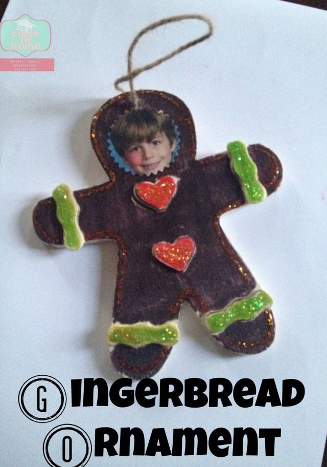 gingerbread ornament. I would read the story Gingerbread Baby by Jan Brett. Each child would design their own gingerbread ornament. Through doing this activity children could learn how to expand their imagination by using personification.