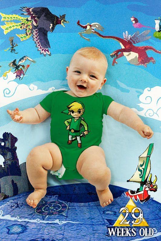 weekly photo 29 - The Legend of Zelda (Link in Windwaker)