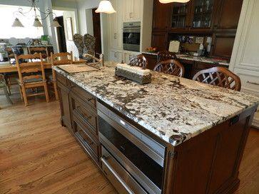 Grey And White Granite Countertops