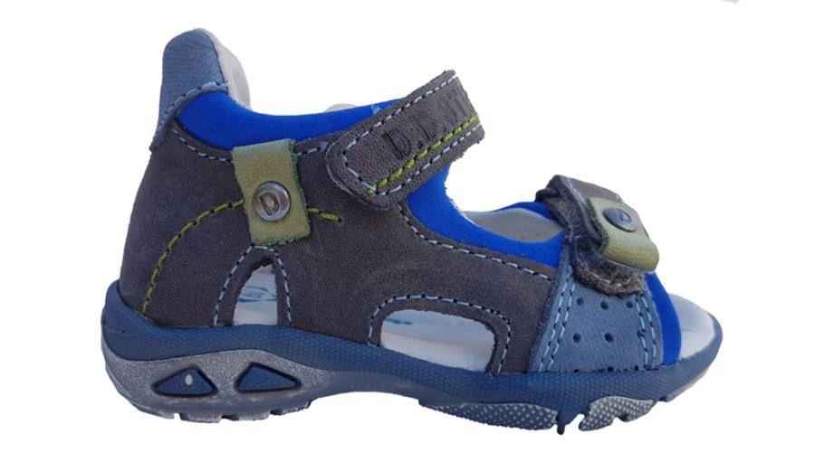 elég olcsó legjobb cipő legalacsonyabb ár Szürke DD Step fiú szandál AC290-7010, a Gyerekcipő ABC ...