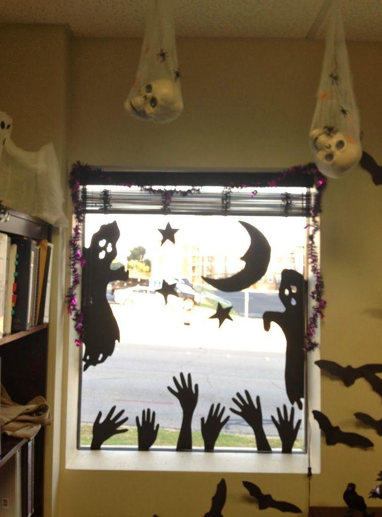 12 Easy DIY Halloween Decorations HAlloween Pinterest Home - halloween office decorating ideas