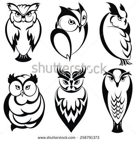 Owl Silhouette Tattoo Google Search Owls Drawing Owl Sketch Owl Silhouette