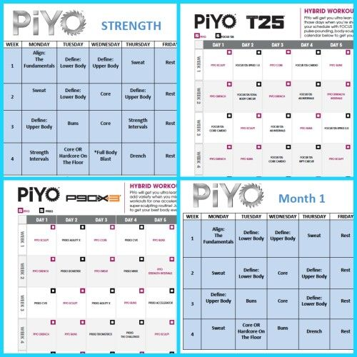 Pin By Chad Pink Zillafitness On Beachbody Worksheets