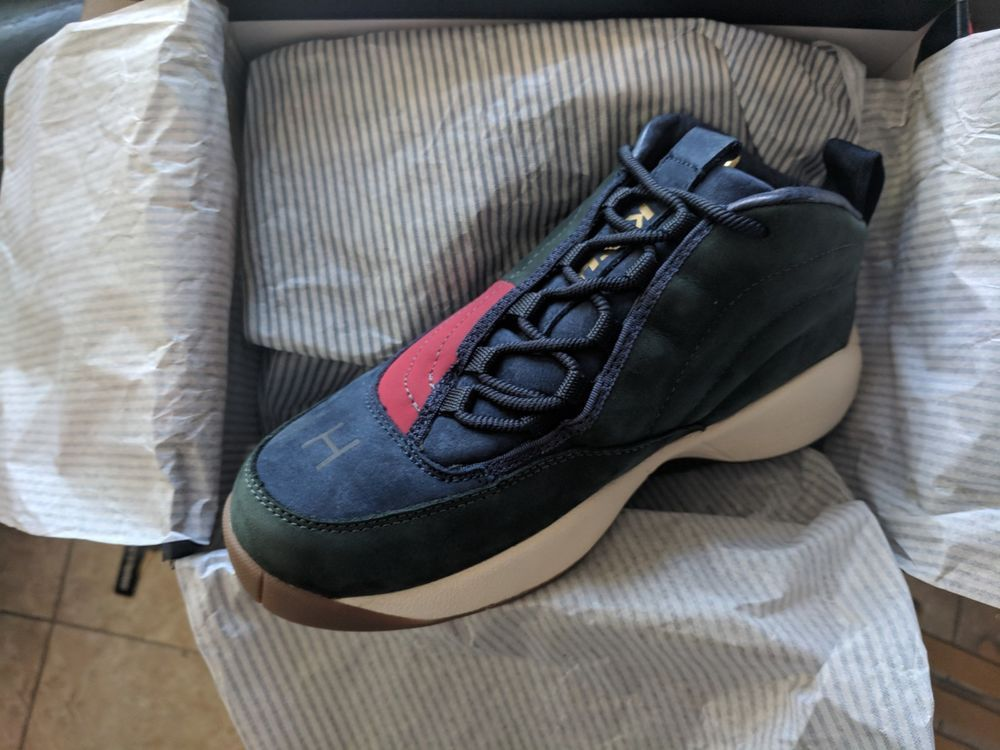 57f245f11354f KITH X TOMMY HILFIGER OG BASKETBALL SNEAKER FOREST   NAVY SHIPS TODAY SIZE  7.5  fashion  clothing  shoes  accessories  mensshoes  athleticshoes (ebay  link)