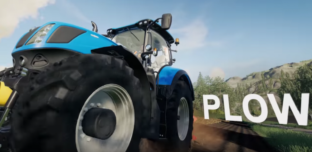 First gameplay trailer unveiled for Farming Simulator 19