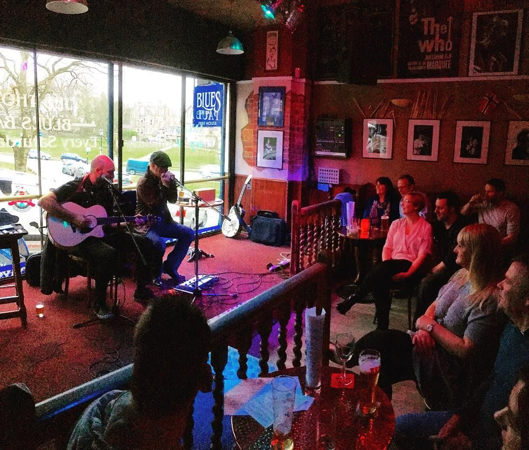#Sunday afternoon live #music in the #Harrogate Blues Cafe great beer here and a packed #venue. #entertainment #pub #entsleeds #blues #guitar #rock #leisure #life #travel #tourism #tourist #Yorkshire #England