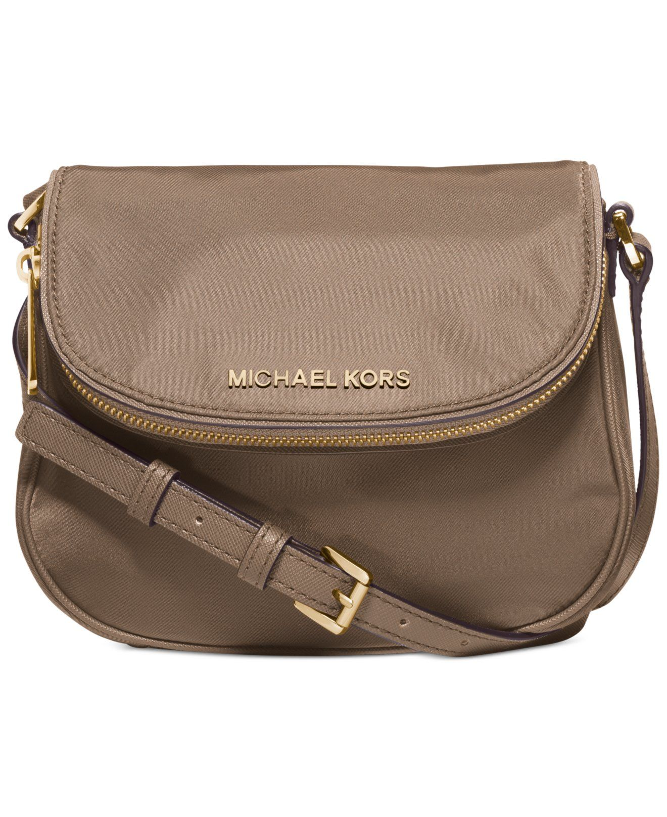 MICHAEL Michael Kors Bedford Nylon Flap Crossbody - Crossbody \u0026 Messenger  Bags - Handbags \u0026 Accessories