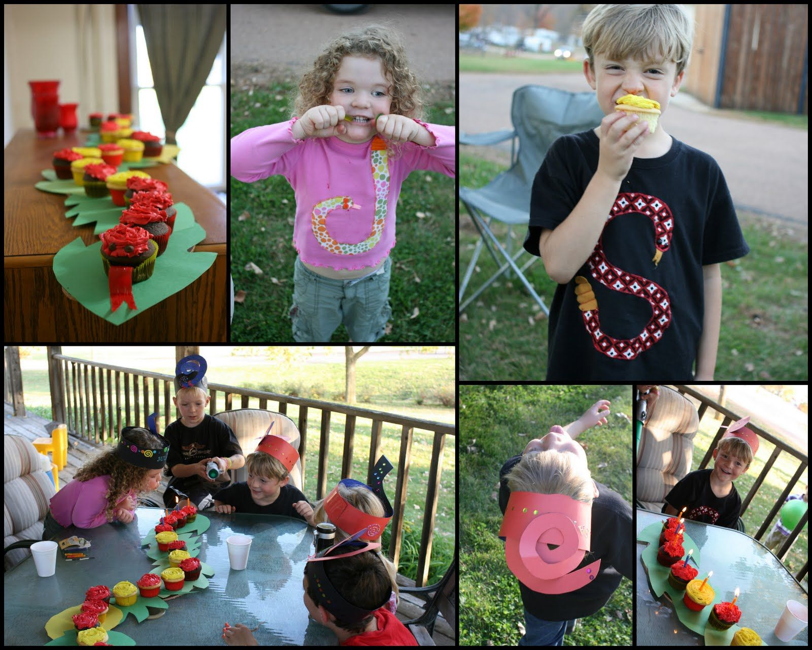 How to Throw a Snake Themed Birthday Party