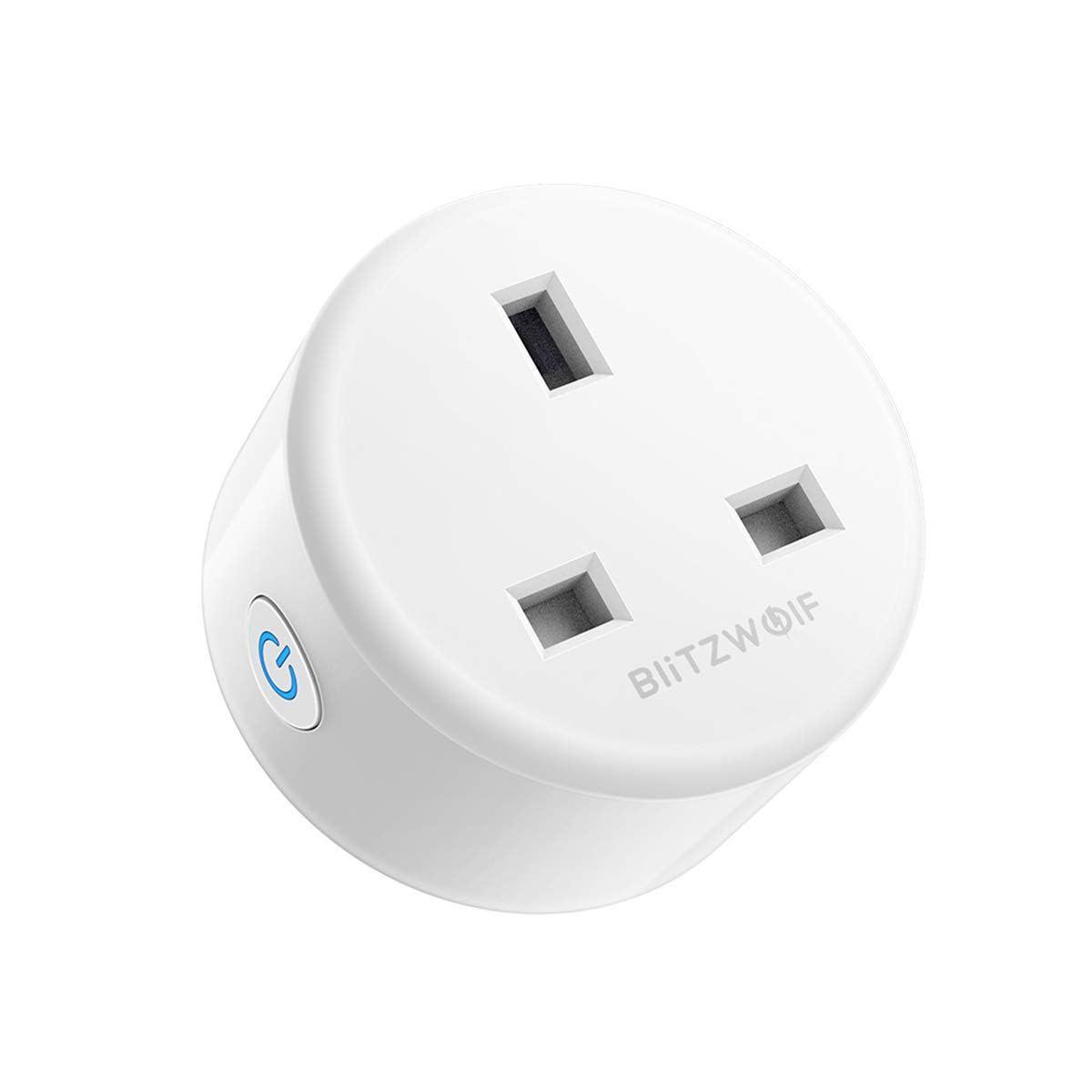 BlitzWolf Smart Plug Compatible with Alexa, Wifi Socket with