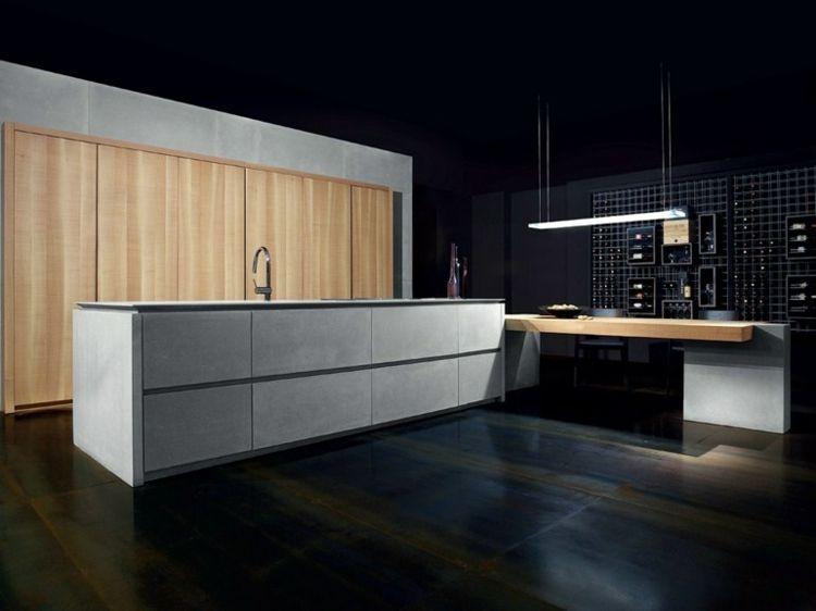 6 moderne Einbauküchen mit Kochinsel von Toncelli Küche Pinterest - moderne einbaukuechen kochinsel