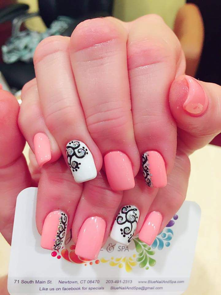 80+ Trendy Spring Nail Art Ideas to Flaunt Spring-time Beauty ...