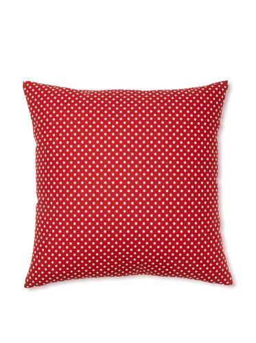 Dottie Lipstick pillow