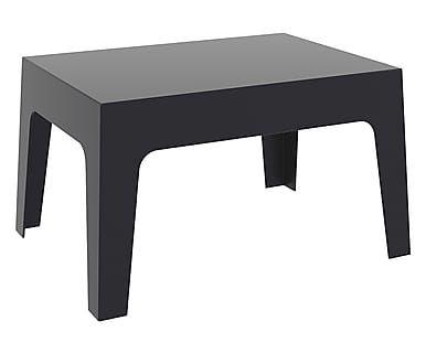 Tavolino Terrazzo ~ Tavolino in polipropilene anatracite box cm terrazzo