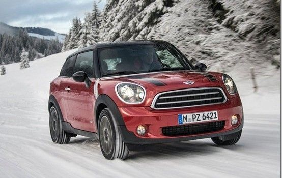 2014 MINI Paceman ALL4 Official Pictures
