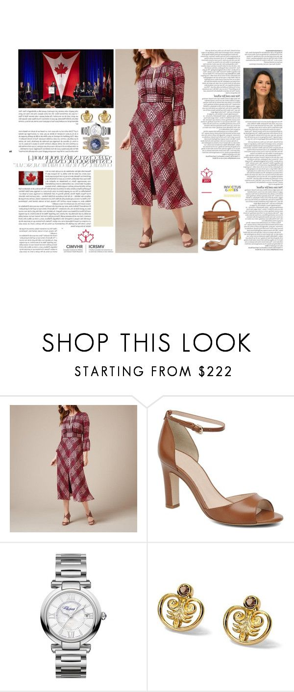 """""""Untitled #3005"""" by duchessq ❤ liked on Polyvore featuring L.K.Bennett, ASOS, Hermès and Chopard"""