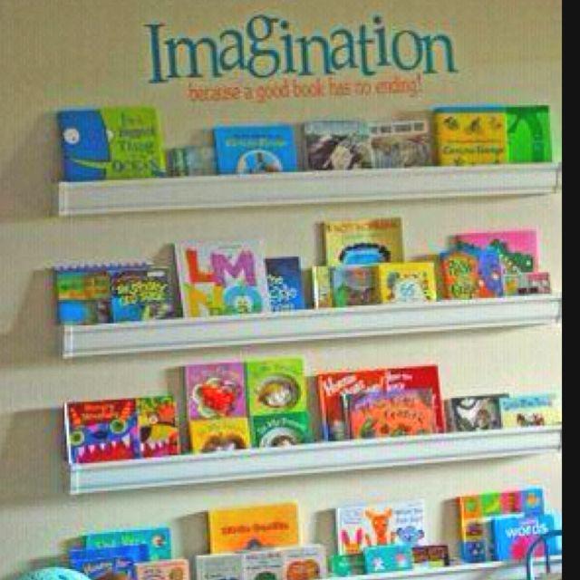 On The Wall Custom Bookshelf