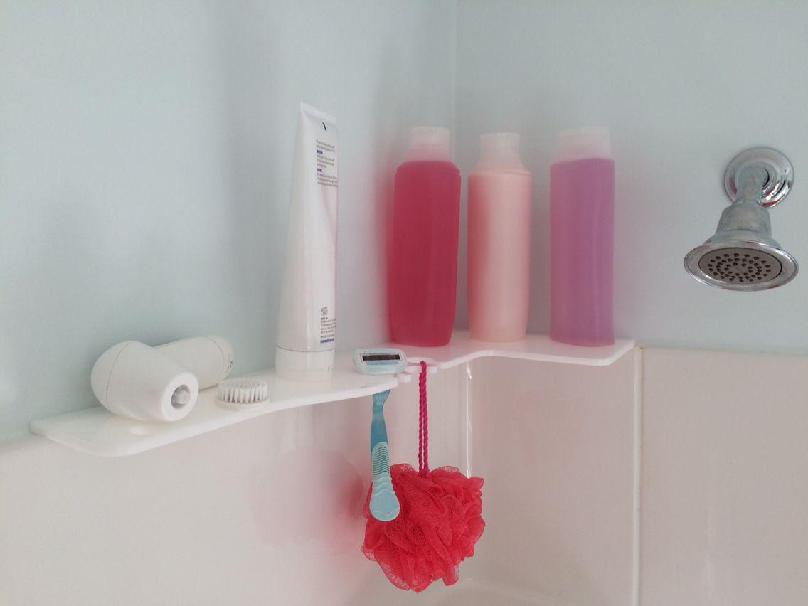 www.TubNShowerShelf.com Shower shelf for fiberglass showers and tub ...