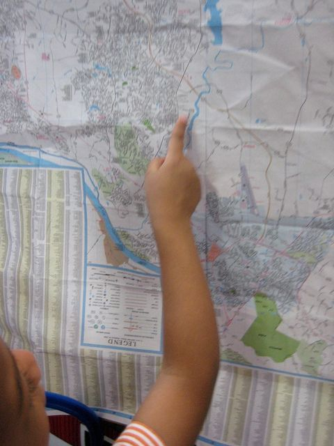 Maps in Dramatic Play