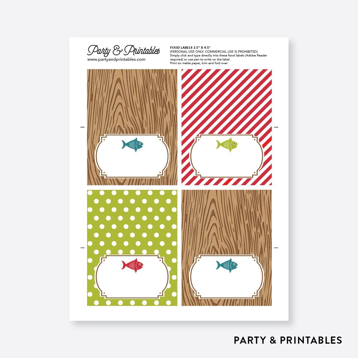 43 Father's Day Decorations Party Free Printables