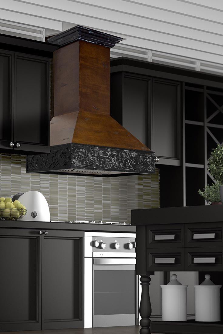The Zline Kitchen 373ar Craftsman Wall Mount Wood Range Hood Is Perfect For A Kitchen Remodel It Has A Solid B Wooden Range Hood Range Hood Kitchen Range Hood