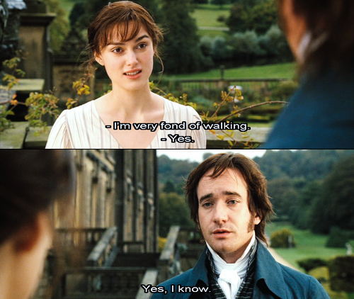 Pride And Prejudice. Maybe that's why you keep walking away from my proposals. | Pride and prejudice quotes, Pride and prejudice, Pride and prejudice 2005