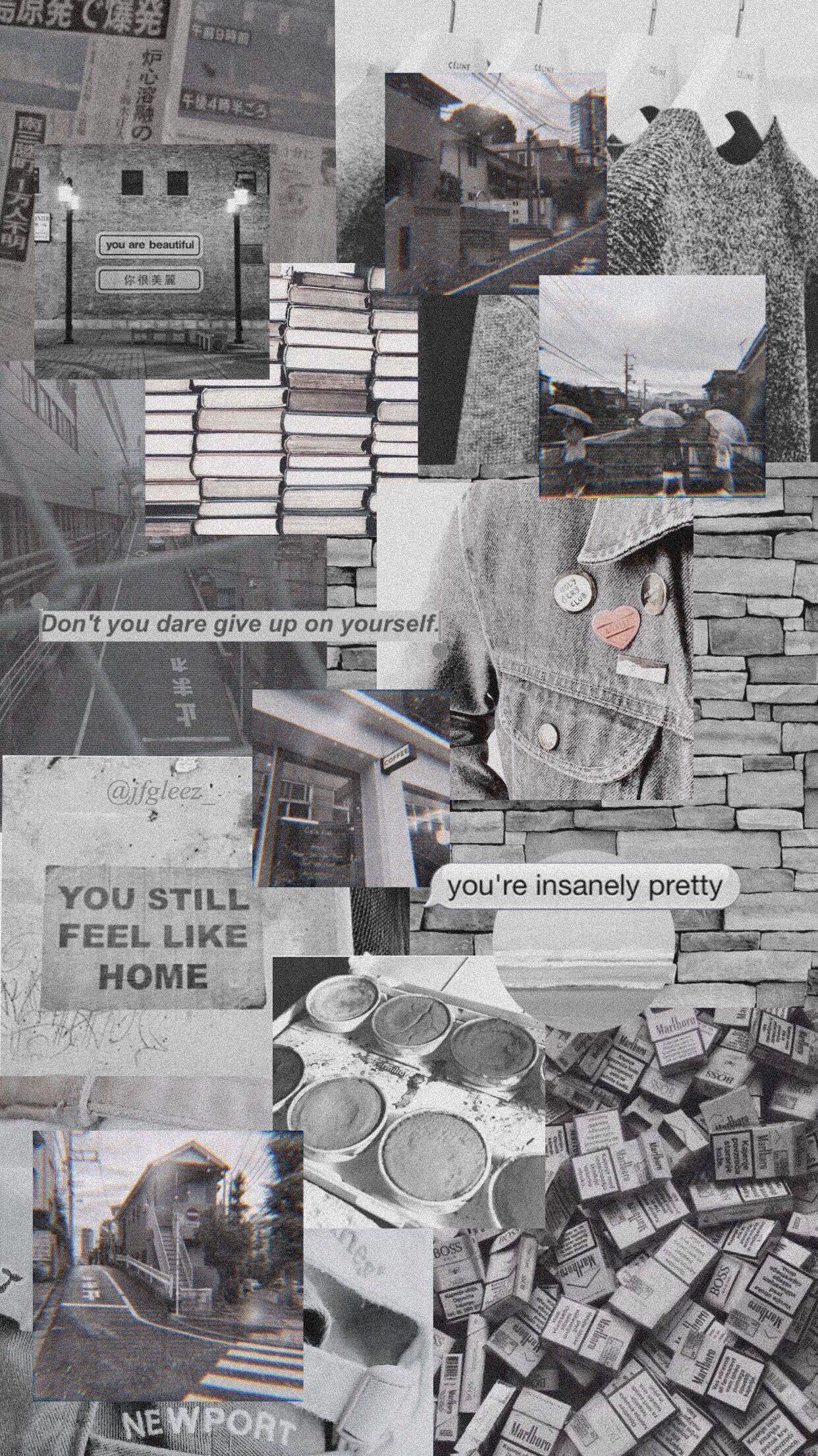 #wallpaper #grey #aesthetic #jfgleez_ | Fotografi abstrak ...
