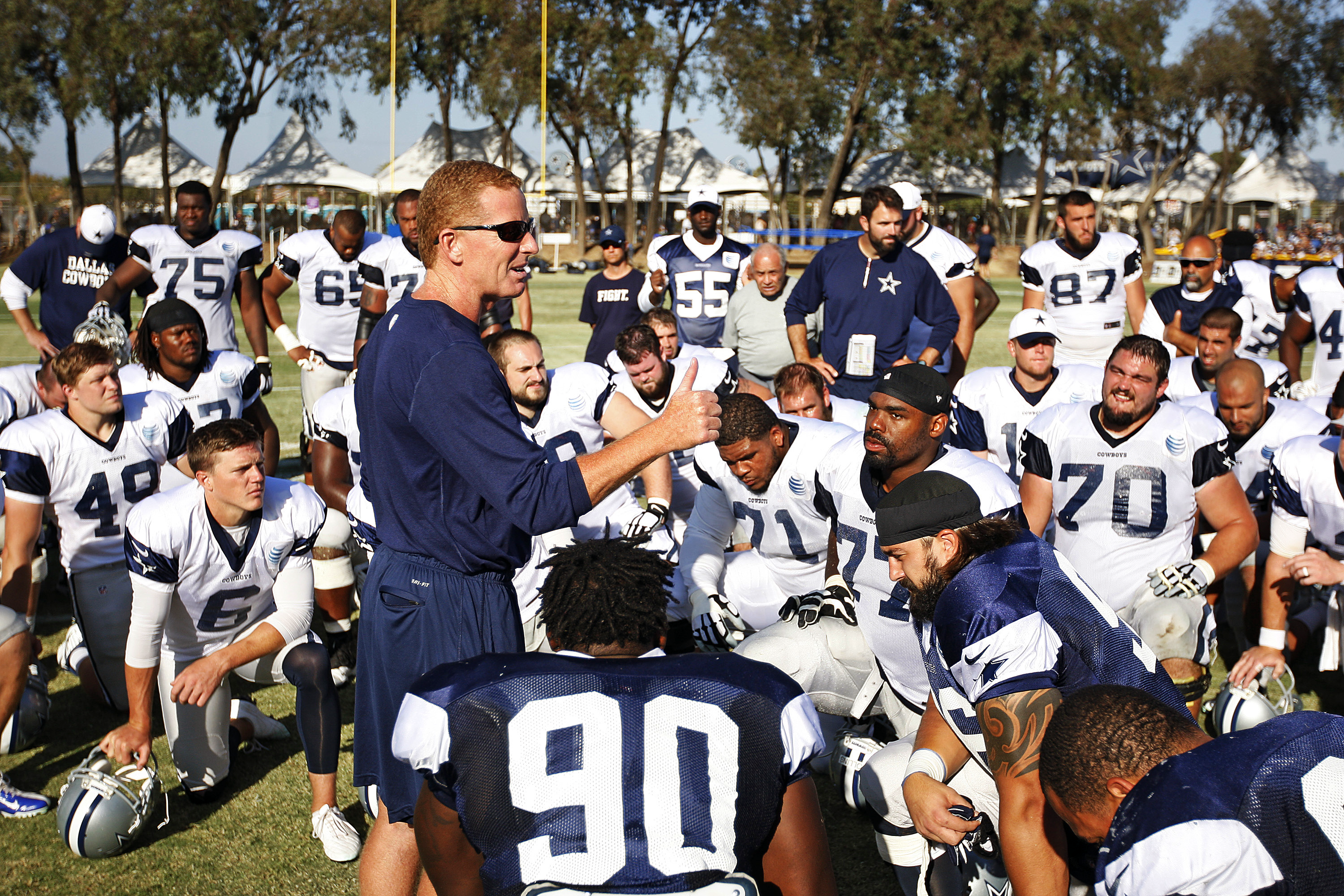 The Cowboys are currently engaged in voluntary Organized