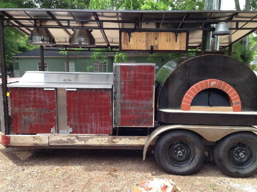 Pizza Trailer Food Truck Custom pizza, Food truck