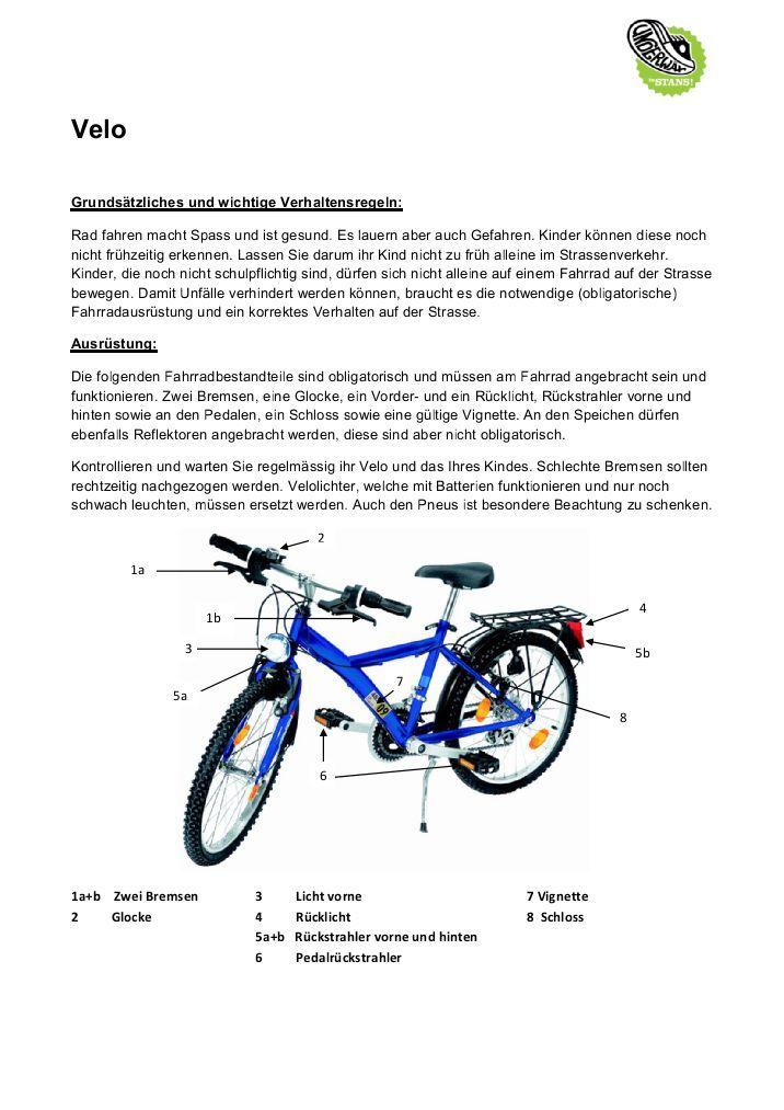 Fahrrad Geschichte Grundschule