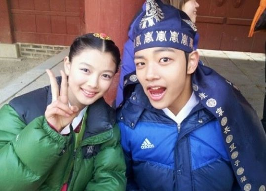 The Moon Embracing the Sun: Yeo Jin Goo and Kim Yoo Jung | I have a