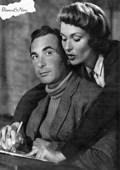 Adriano Rimoldi And Vivi Gioi In Gente Cosi 1949 Adriano
