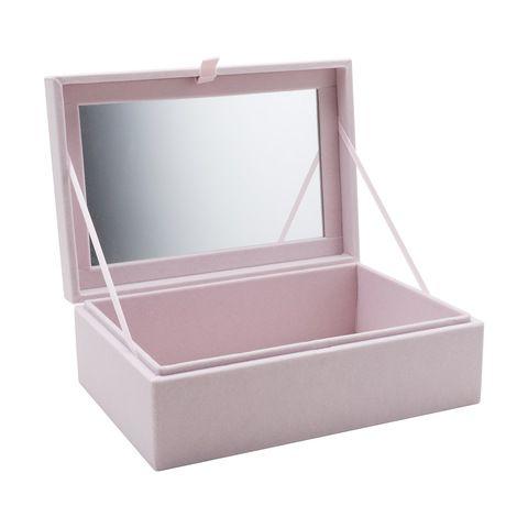 31de457e72ea Velvet Jewellery Box in 2019 | K M A R T ❤ | Jewelry, Jewelry box, Box