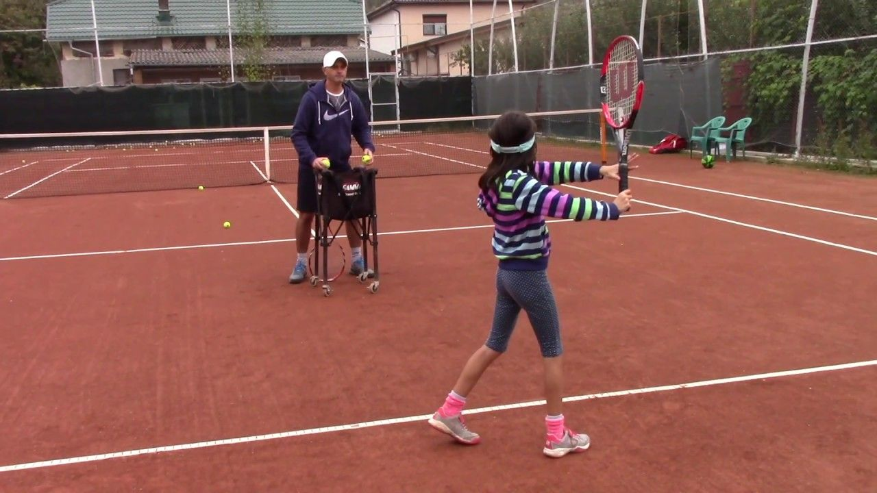 Live Tennis Lesson 30, part 4 (Tennis 10 & Under, My Daddy