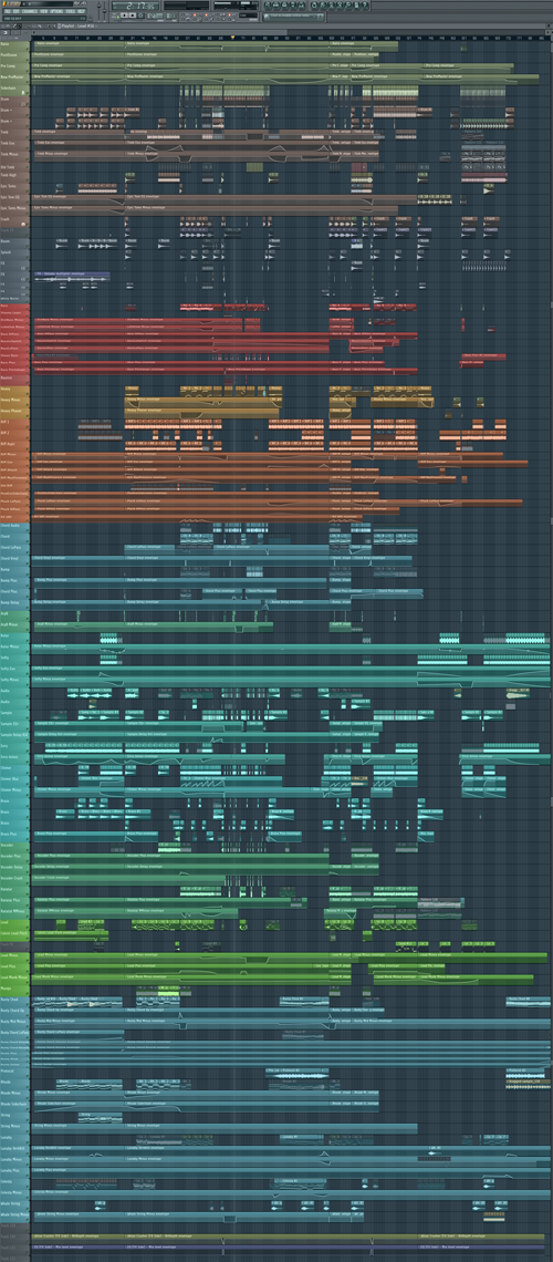 how to make a song fl studio edm