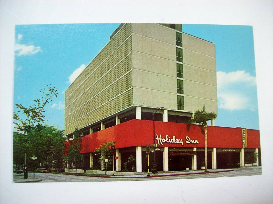 Before The Thompson It Was Holiday Inn 9360 Wilshire Blvd Southwest Corner Of Boulevard And Crescent Dr