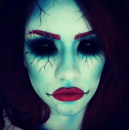 Dead Soul Makeup Halloween Makeup Witch Scary Witch Makeup Halloween Makeup