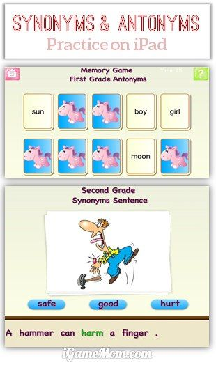 App Went Free: Fun App Helping Kids Learn Synonyms and Antonyms ...