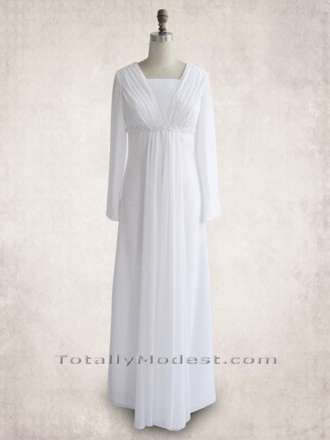 Temple dress | Wedding dresses | Pinterest | Templo, templos SUD y LDS