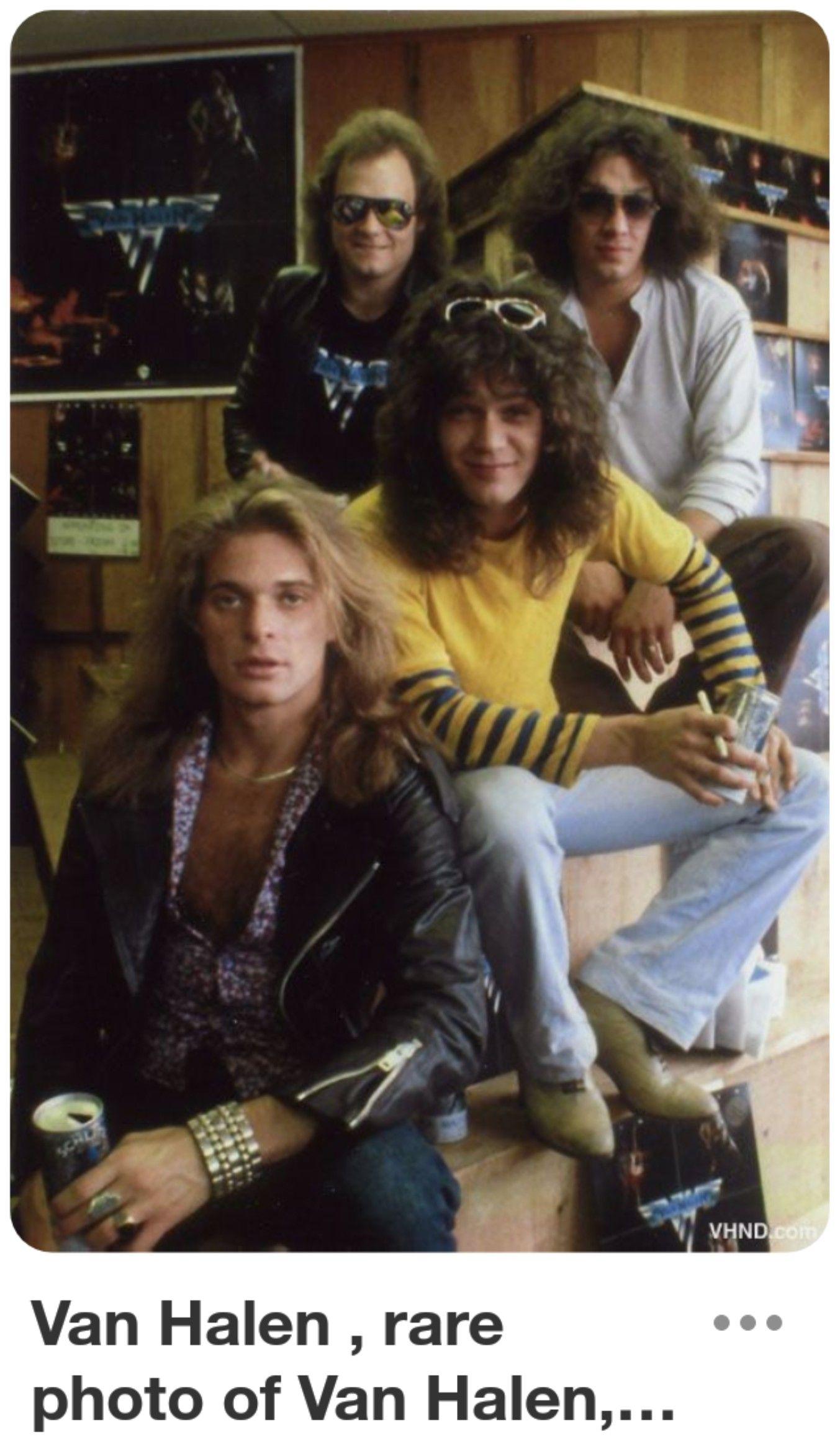 Pin By Sherri Tyler On Van Halen Van Halen Rock Music Halen
