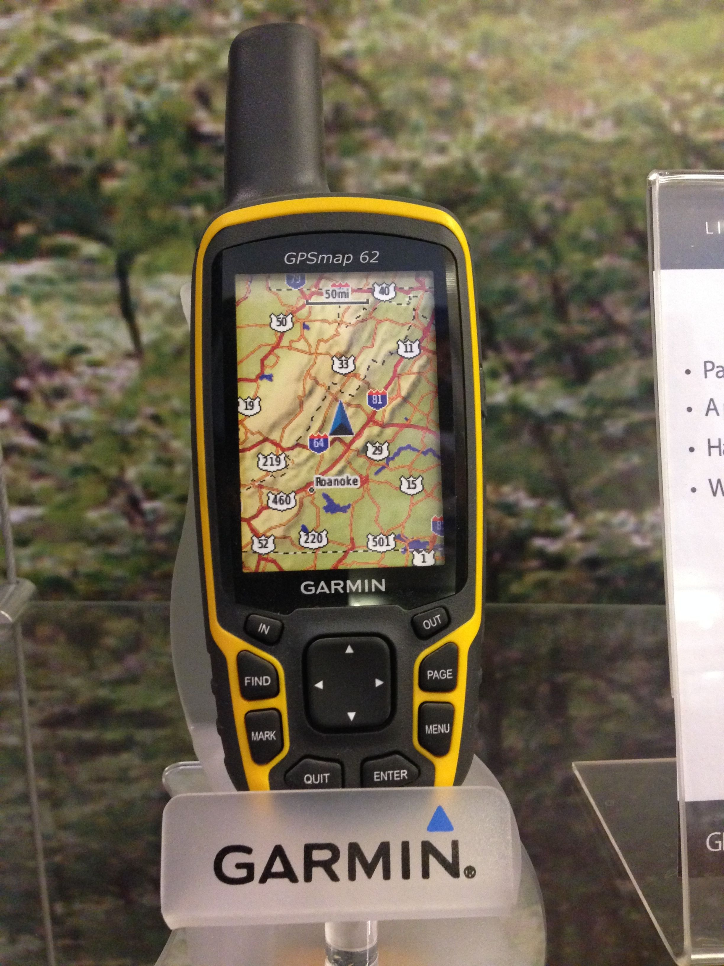 GPS en tienda Garmin en Mall Sport