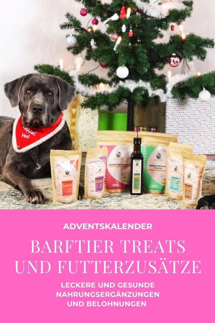 Tur 6 Barftier Treats Und Futterzusatze Zu Gewinnen Hunde Adventskalender Futter Adventkalender