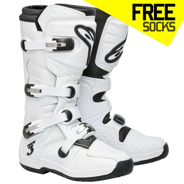 Alpinestars Tech 3 Boots - Super White