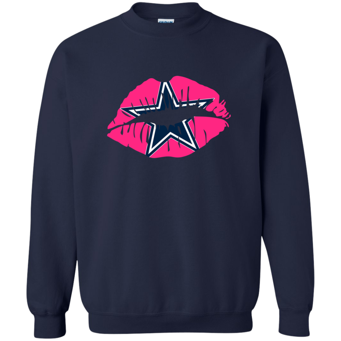 Dallas Cowboys T Shirts Kissing Lip Hoodies Sweatshirts Sweatshirts Hoodie Sweatshirts Shirts [ 1155 x 1155 Pixel ]