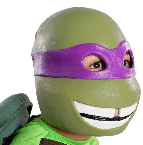 Ninja Style Super Hero Fancy Dress Eye Mask Purple Donatello