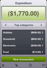 iPhone Screenshot for Easy Envelope Budget Aid (EEBA