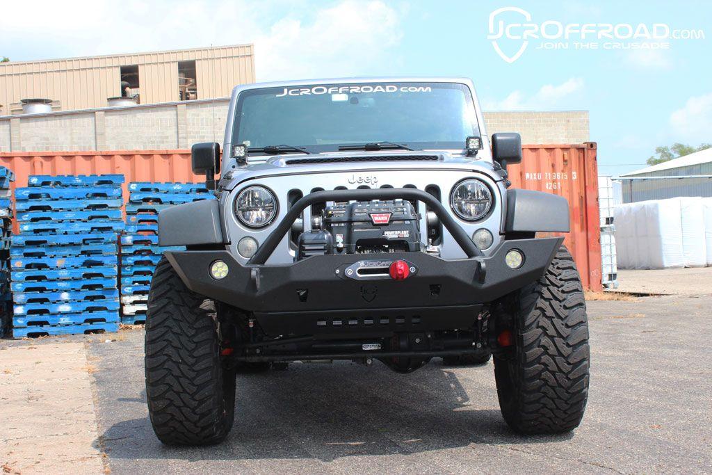 Jk Jl Jt Front Bumper Vanguard Full Width 2007 Jeep Wrangler